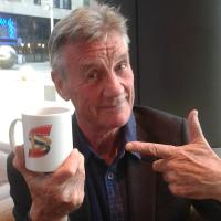 Michael Palin - An English comedian, actor, writer and television presenter. He was one of the members of the comedy group Monty Python