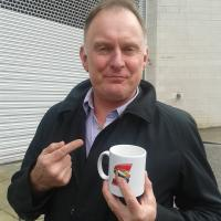Robert Glenister - English actor known for his roles as con man Ash Three Socks Morgan in the BBC television series Hustle.