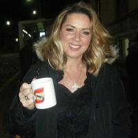 Claire Sweeney - English actress, singer and television personality, best known for playing the role of Lindsey Corkhill in the Channel 4 soap opera Brookside