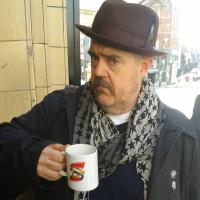Phil Jupitas - English stand-up and improv comedian, actor, performance poet, cartoonist and podcaster.