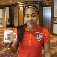 Alex Scott - English footballer who plays as a right-back for Arsenal in the English FA WSL and the England women's national football team.