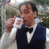Alistair McGowan - English impressionist, comic, actor, singer and writer best known to British audiences for The Big Impression