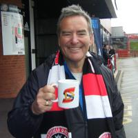 Jeff Stelling - English sports journalist and sport television presenter. He currently presents Gillette Soccer Saturday for Sky Sports